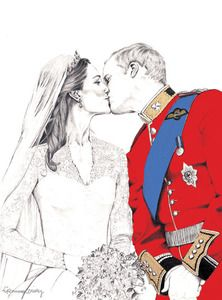 LOVE this! Kate and William