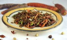 Best Salad Ever: Lentil Salad with Chinese 5-Spice #recipe #salad