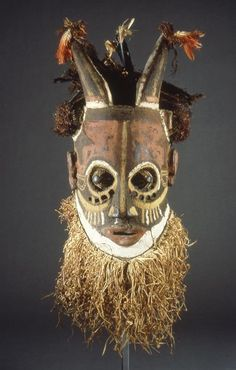 Africa |  Mask from the Bushoong people,   DR Congo