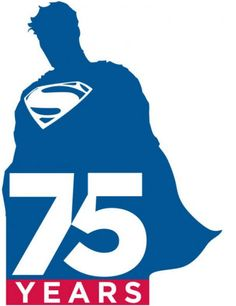 Warner Bros. and DC Entertainment unveil Superman 75th anniversary logo