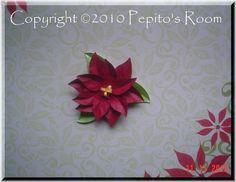 PRA Flor de Pascua Poinsettia Accent SVG file  by PepitosRoom, $2.50