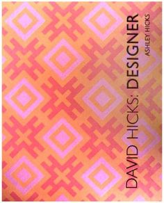 I would love to have this grace my bookshelf  David Hicks: Designer by Ashley Hicks