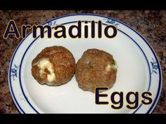 "Atkins Diet Recipes: Low Carb Armadillo ""Eggs"" (IF)"