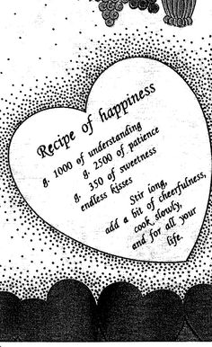 Recipe for happiness #quotes