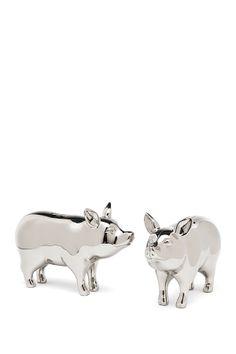 Pig Salt  Pepper Shakers