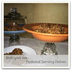 DIY Pedestal Serving Dishes