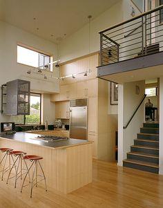 Postwar split-level remodel in Seattle: Zipper House designed by DeForest Architects