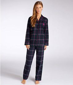 One set of modest winter pajamas