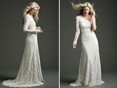 20 of The Most Distinctly Stunning Long Sleeve Wedding Dresses