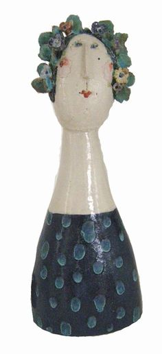 jane muir: flower head lady