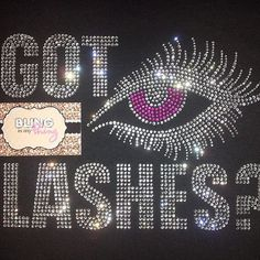Younique Got Lashes Bling Rhinestone shirt by BlingIsMyThing2012, $25.00 # youniqueswag #Younique