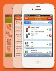 Use an app to help you save while grocery shopping. | 46 Penny-Pinching Ways To Save A Lot Of Money This Year