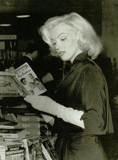 peopl, marilyn monroe, andr de, book, read, beauti, de dien, norma jean, marilynmonro