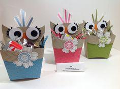 Owl fry box