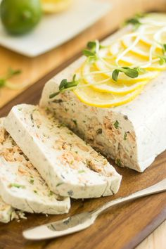 Paleo Salmon Terrine - Forget the fact that it's paleo, this sounds interesting. Might be a good summer dish. summer dishes, hot summer days, salmon terrin, side salads, paleo salmon