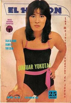Legendary joshi puroresu star Jaguar Yokota