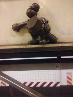 """Life Underground"", Tom Otterness, NYC"