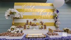 Be Inspired PR Gold Glitter Party | theglitterguide.com