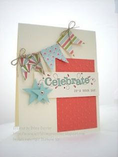 cute card by Stampin Up