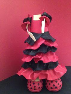 EL RINCÓN FOFUCHERO Tutorial vestido flamenca