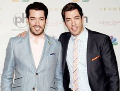 Drew and Jonathan Scott -- I wish I could get on Property Brothers!!! LOVE THEM!!