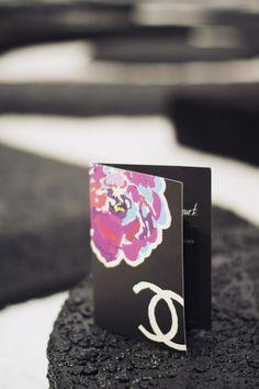 Chanel Fashion Week Invite