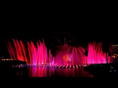 Disneys World of Colors - Nightly Showing in California Adventure Land - one of the best shows ever!!