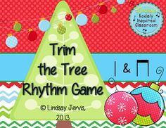 Trim the Tree Rhythm Game: ta and titi