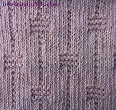 Faceted Beads Stitch Pattern