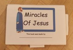 Miracles of Jesus Pop-up Book