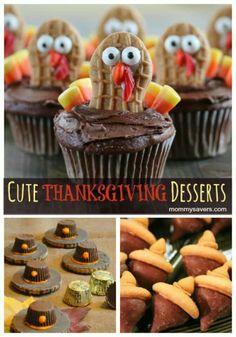 Thanksgiving desserts kids can make