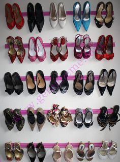 crown molding shoe rack diy