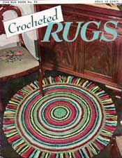 14 Crochet Rugs Patterns | http://www.freevintagecrochet.com/rug,- some really cool patterns here for free