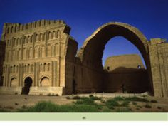 Palace of Shapur I, Ctesiphon, Iraq ca. 250 ce