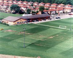 Aerial view of the old Melwood building