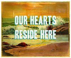 always, at the ocean.
