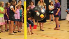 PE Games - Angry Birds {I have to do this}