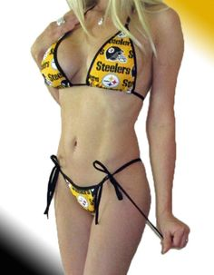Pittsburgh Steelers bikini