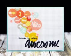 Awesome card, by Jennifer Rzasa