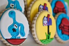 blues clues party, blue clue, favorit recip, 2nd birthday, cookies, 1st birthdays, kid, birthday ideas, clue birthday