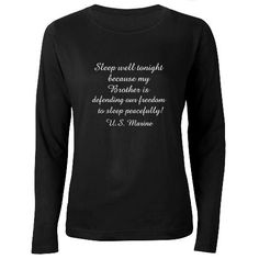 Marine Sister Shirt #cafepress #marinesister