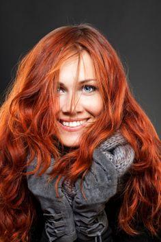 Cute red hair...