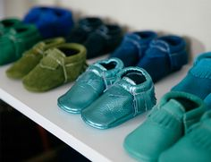 Freshly Picked moccasins // kids shoes