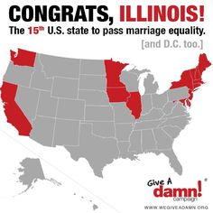 State lawmakers OK gay marriage in Illinois