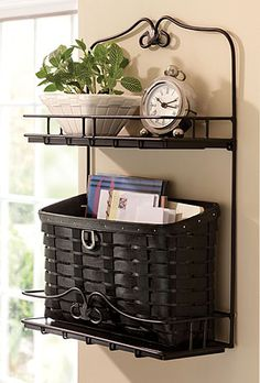 I love organizing with baskets!!