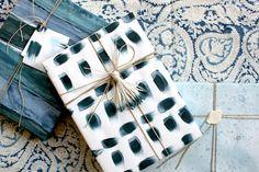 Indigo Hues // Seasonal Wrapping - Simone LeBlanc for Sacramento Street