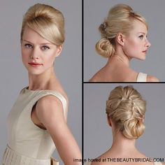 wedding updo, brides, wedding dress styles, bangs, gown, hair style, bride hairstyles, wedding hairstyles, french twist