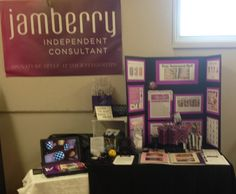 My Jamberry Nails display table at the West Guilford craft show - 4 foot wide table, used a TV tray covered with a tablecloth for my laptop. Shop: http://wonderful.jamberrynails.net Like: https://www.facebook.com/wonderfulnaildesign