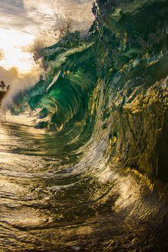 sunset surf, wave, hous