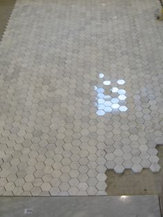 bathroom tile that l